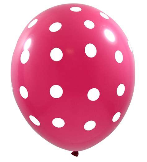 Balon Polkadot Balon Dot pink balloons