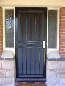 Front Door Security Gates Wrought Iron Security Door Outside Wrought Iron Front Doors And Screens