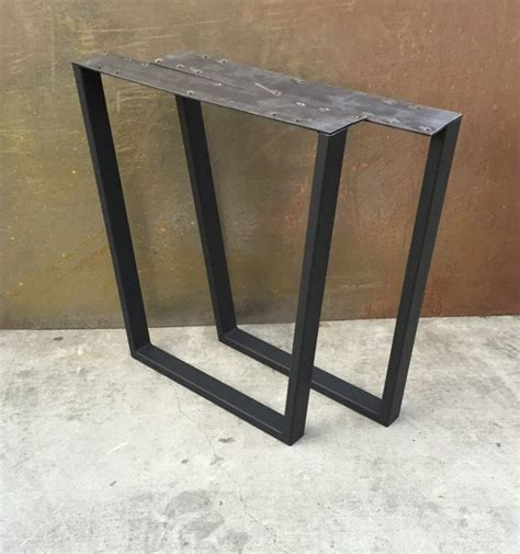 metal table legs metal table legs taper set of 2 exterior home
