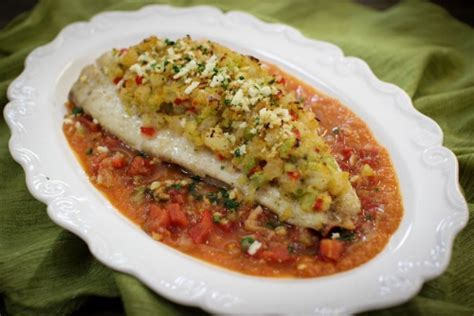 shrimp stuffed red snapper with veracruz sauce olga s flavor factory