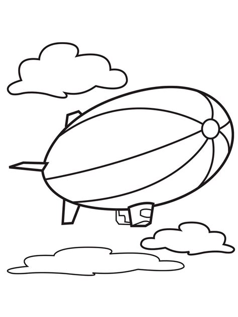 air balloon coloring page air balloons coloring pages and print
