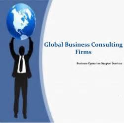 Consulting Firms Global Business Consulting Firms