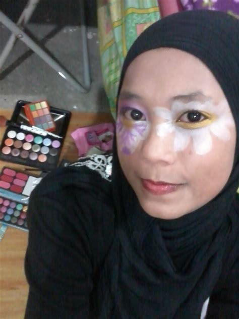 Eyeshadow Buat Remaja fatin shuhaida flora make up inspired