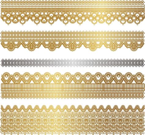 gold lace pattern gold lace pattern vector free vector in encapsulated