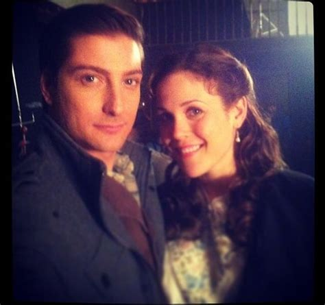 daniel and erin fans erin krakow and daniel lissing when calls the when