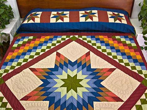 Amish Lone Quilt by Lone Trip Quilt Magnificent Meticulously Made