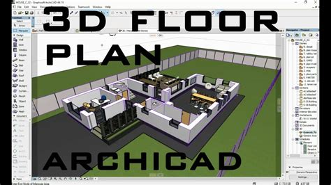 create house plans free how to create 3d floor plan in archicad