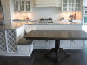 kitchen bench island kitchen island with bench seating for the home pinterest