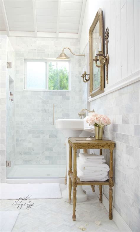 country french bathrooms french cottage bathroom renovation reveal french