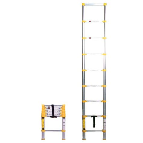 Ladders At Home Depot by Xtend Climb 8 5 Ft Telescoping Aluminum Extension