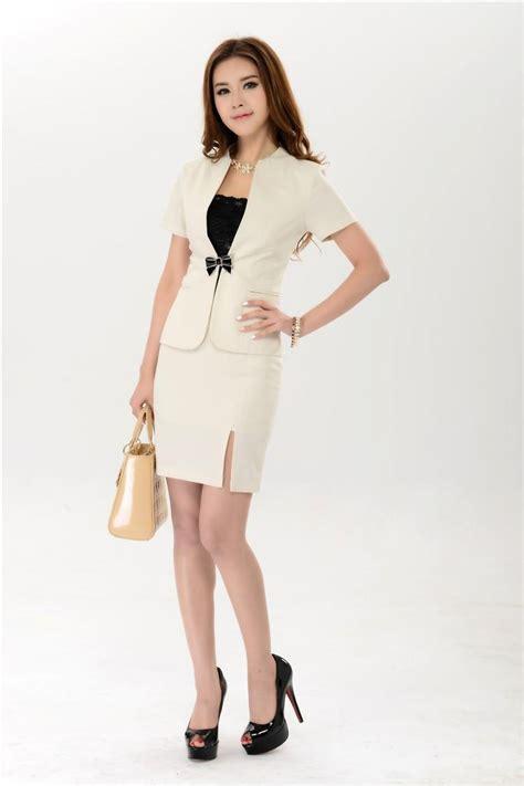 Blazer Set Skirt new 2016 summer business suits blazer skirt