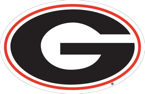 ebay georgia uga university of georgia bulldogs large logo decal ebay