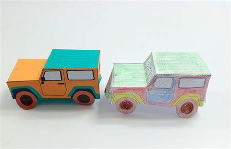 Auto Basteln Papier by Best 25 Auto Basteln Ideas On Gutschein