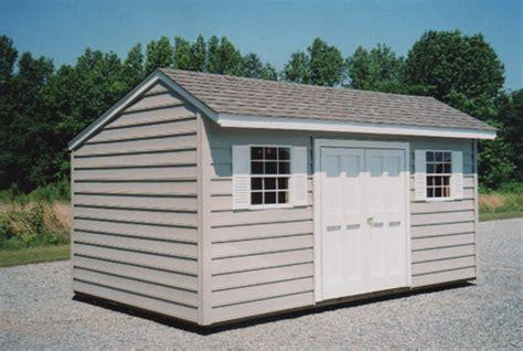 Salt Box Sheds by 10 X 16 Salt Box Shed Sb 8 Portable Buildings Inc
