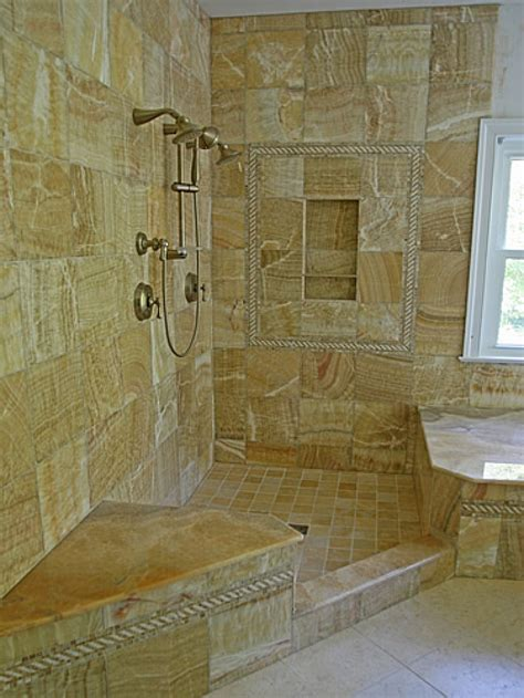 Bathroom Remodel Ideas Tile Small Space Doorless Walk In Showers Studio Design Gallery Best Design