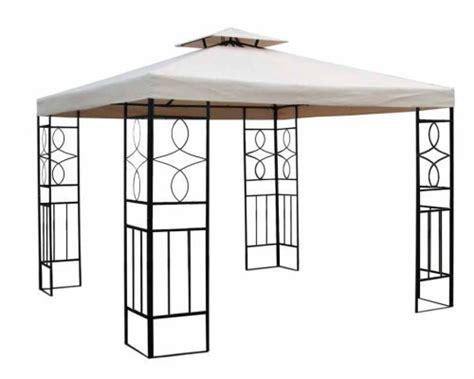 gartenpavillon 3x3m gartenpavillon 3x3m pavillon romantika pavillion beige