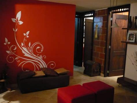 paredes interiores paredes interiores color naranja 5 decoraci243n