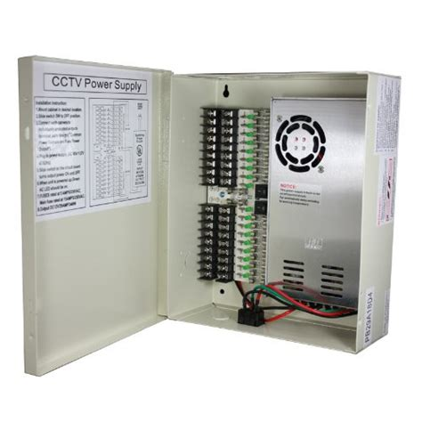 Power Supply 10a 12v Box 12v dc 18ch 29 s power supply box for cctv security