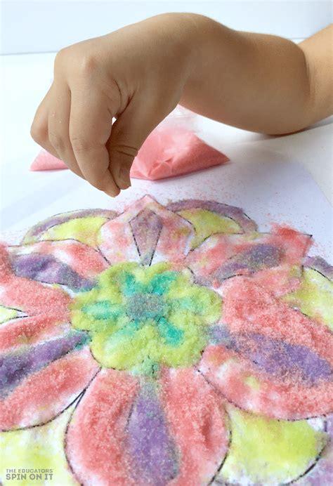 rangoli craft for rangoli craft idea for the educators spin on it