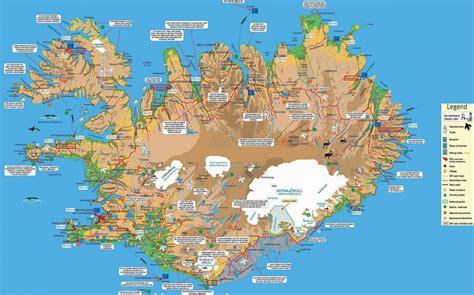 map tourist iceland niceland nota bene eugene kaspersky s