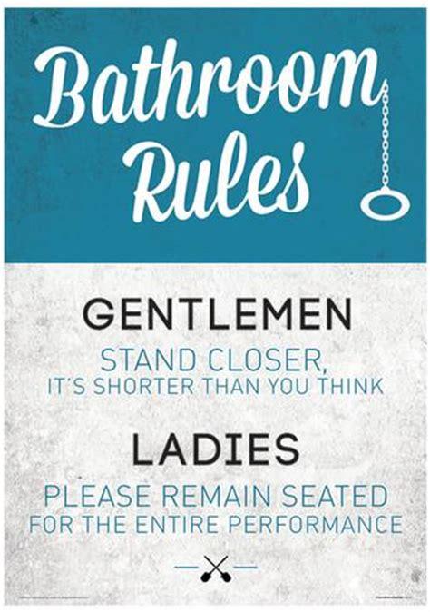 funny bathroom posters bathroom rules funny sign poster masterprint at allposters com