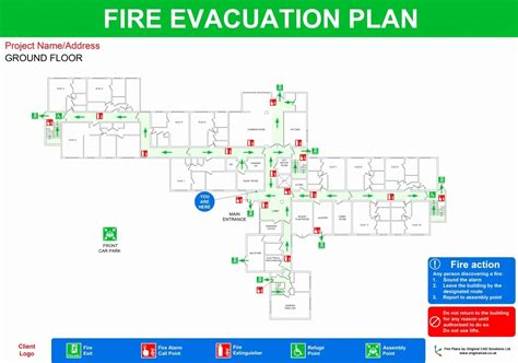 evacuation diagram template images resume ideas