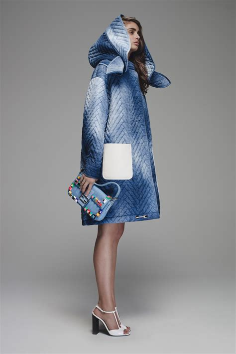 couture embellished denim trend 2015 fendi resort 2016 bag collection featuring micro backpack