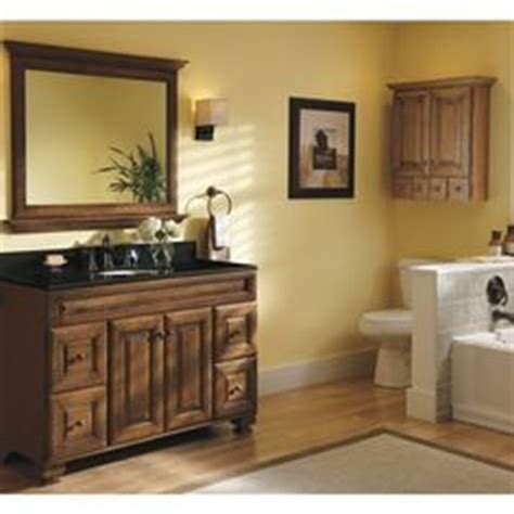 Allen Roth Ballantyne Vanity by Allen Roth Ballantyne Mocha With Glaze Traditional