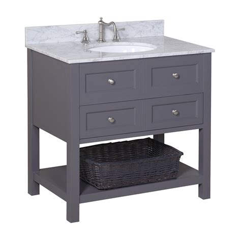 charcoal grey bathroom vanity new yorker 36 inch vanity carrara charcoal gray