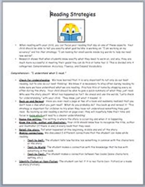 Parent Letter Explaining Guided Reading 205 best classroom forms images on creative