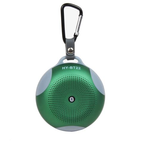 Mountaineering Buckle Bluetooth Speaker With Diaphragms Support Tf Card Fm Radio Hy Bt22 mountaineering buckle bluetooth speaker with diaphragms support tf card fm radio hy bt22