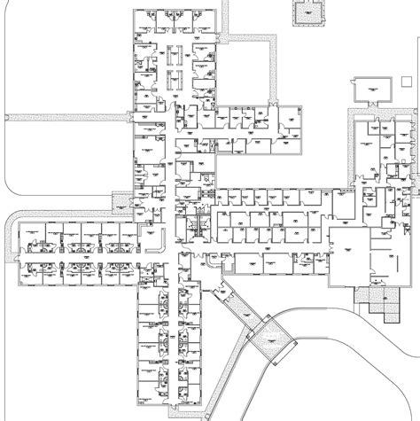 Floor Plan Hospital | precision constructors hospitals and healthcare