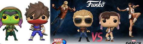 Funko Pop Marvel Vs Capcom Infinite Captain Marvel Vs Chun Li eventhubs fighting news and guides fighter marvel vs capcom smash bros tekken