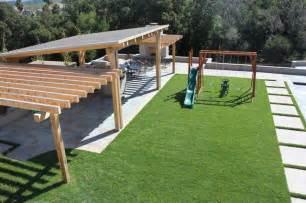 Slanted Pergola Roof by Napa Residence
