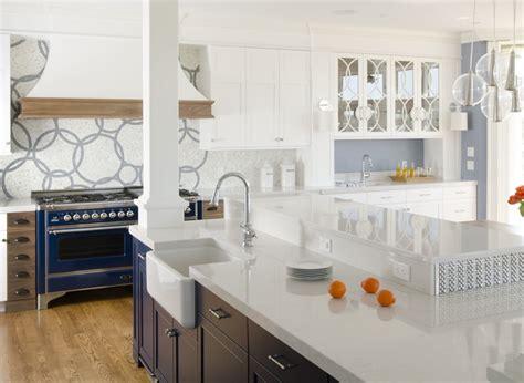 Red Kitchen Tile Backsplash silestone lagoon kitchen contemporary kitchen