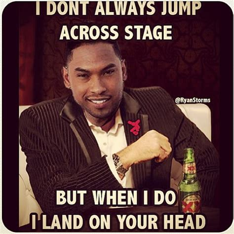 Miguel Memes - miguel kicking a fan in the face at the billboard awards