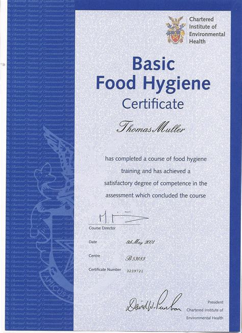 servsafe certificate template food hygiene course west food ideas
