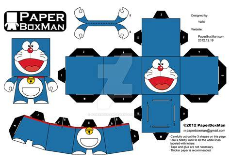 cara membuat origami doraemon 3d paperboxman 002 doraemon by paperboxman on deviantart