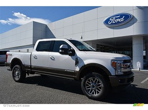 F250 King Ranch 2017 by 2017 White Platinum Ford F250 Duty King Ranch Crew