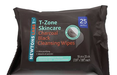 Soap And T Zone Detox by T Zone Charcoal Black Cleansing Wipes Be Beautiful
