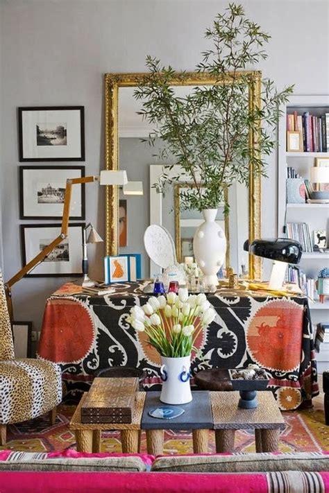 bohemian apartment decor  close  artistic year