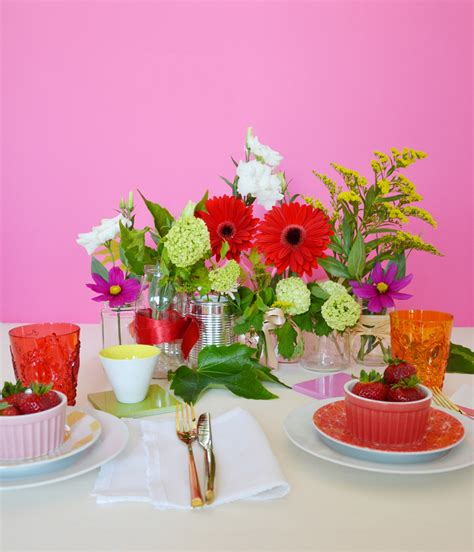 centrotavola fiori fai da te centrotavola fai da te con barattoli di vetro
