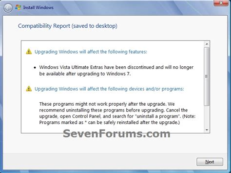 install windows 10 compatibility report windows installer does not work on my windows 7 laptop i