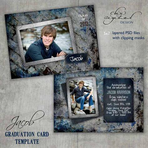 4x6 graduation photo cards templates graduation announcement card template open house