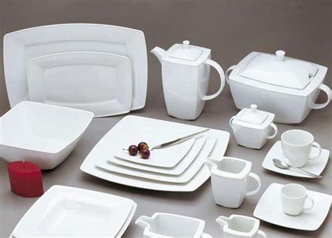 geschirr set modern modern dinnerware trends for contemporary table setting