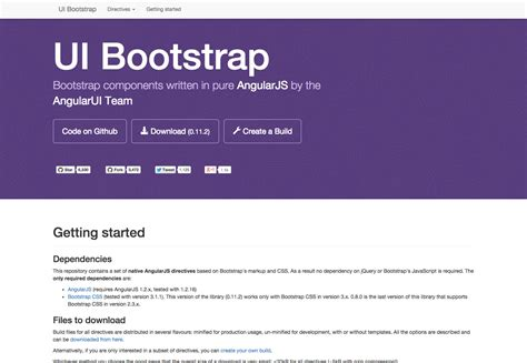 100 angular ui bootstrap template angularjs state