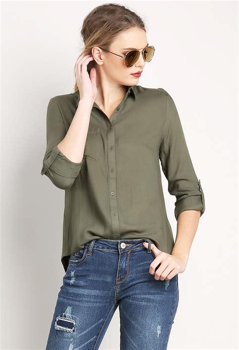 Slit Shirt back slit shirt shop blouse shirts at papaya clothing