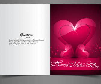 desain kartu ucapan kreatif kartu ucapan ibu hari kreatif teks konsep vektor vektor