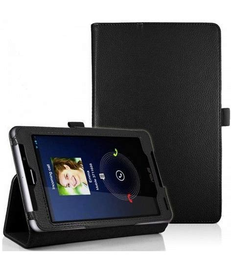 Flipshell Book Cover Fonepad 7inc hoko black leather flip book cover stand with magnetic closure for fonepad 7 me372cg buy