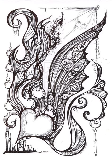 zentangles coloring pages images  pinterest